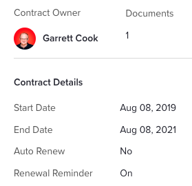 G2 Track Contract Owner